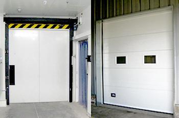rampas y puertas para muelles de carga instaladas en Makro