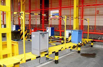 puente-grúa-para-mover-las-baterías-industriales