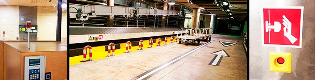 Ingeniería industrial de INGENUT en las instalaciones aeroportuarias de AENA