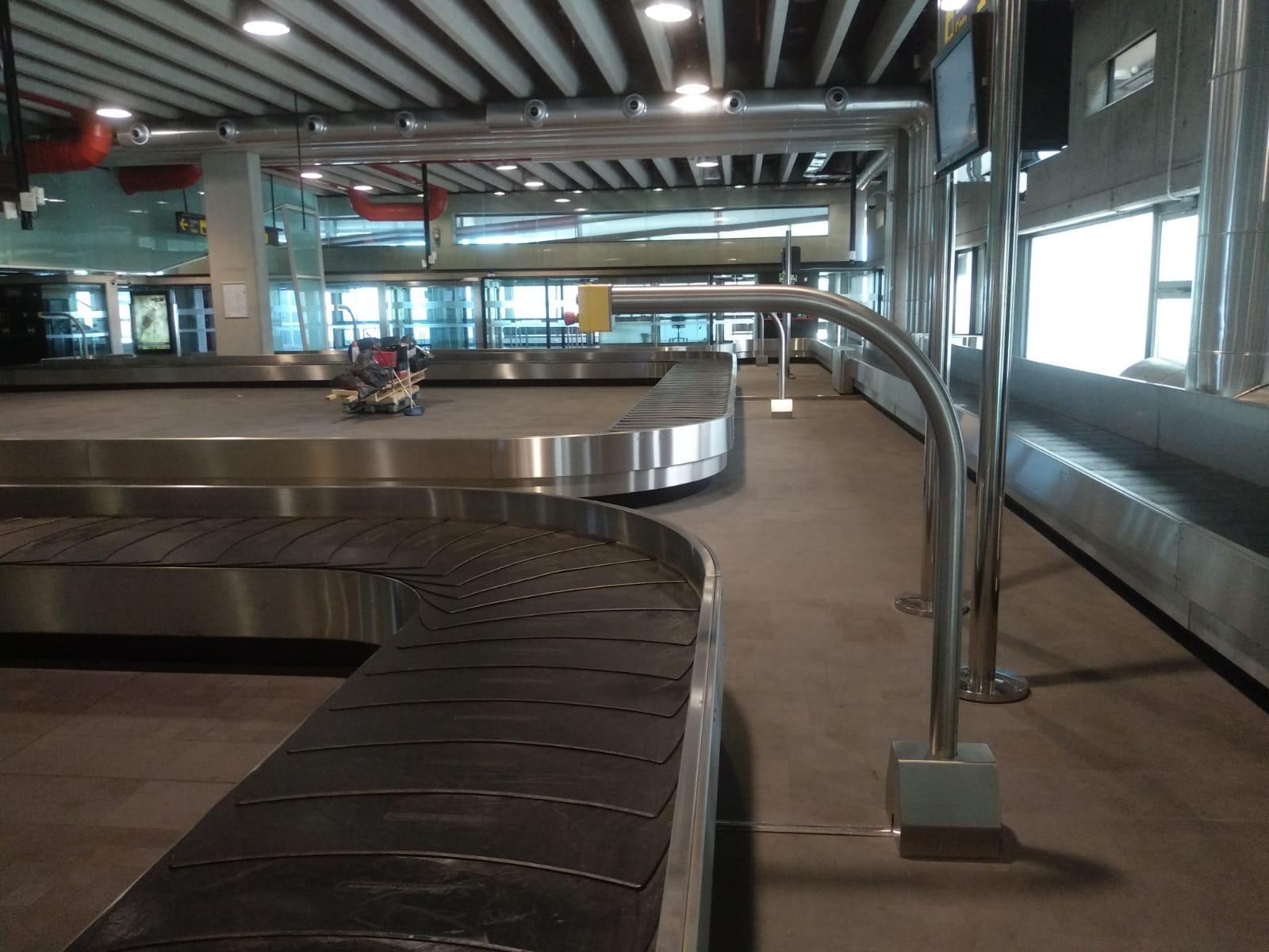 Montajes Industriales de ingenut en el aeropuerto de la palma