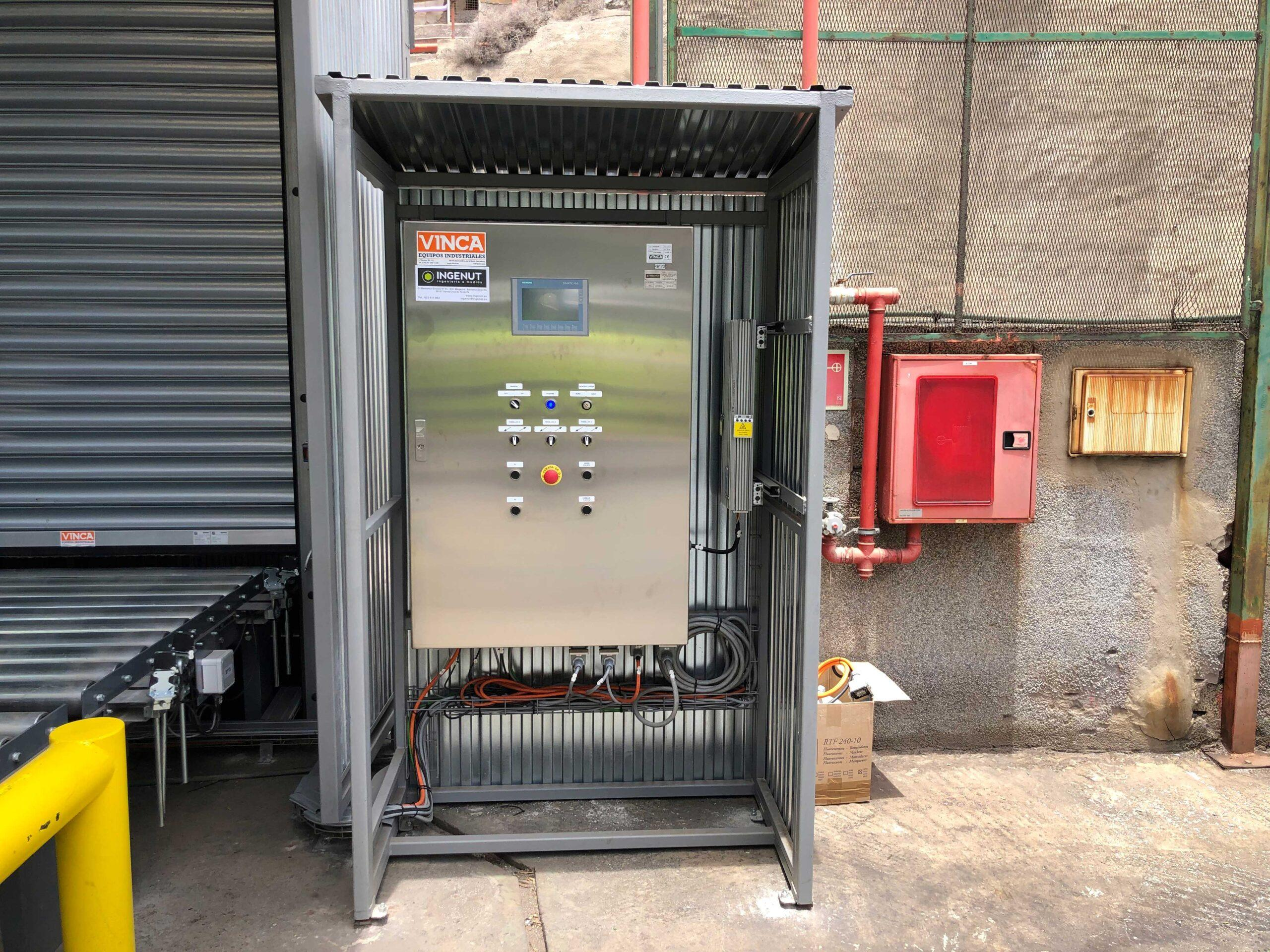Plataforma elevadora para palets